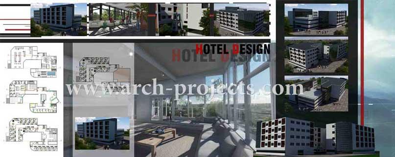 دانلود پروژه هتل