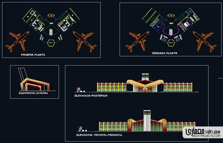 دانلود پلان فرودگاه