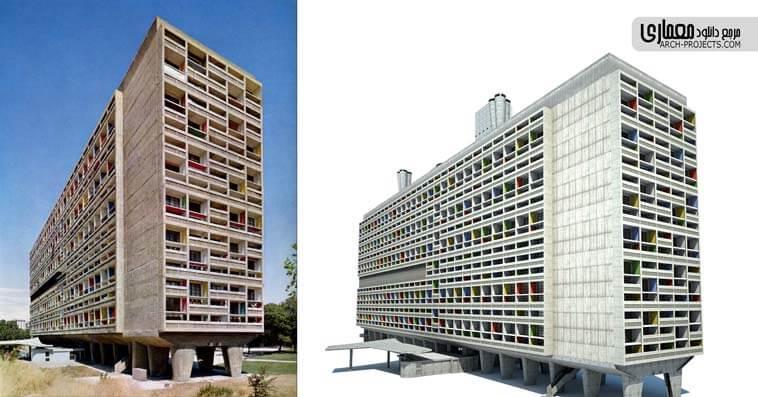 نمونه موردی مسکونی خارجی - آپارتمان مسکونی مسکو