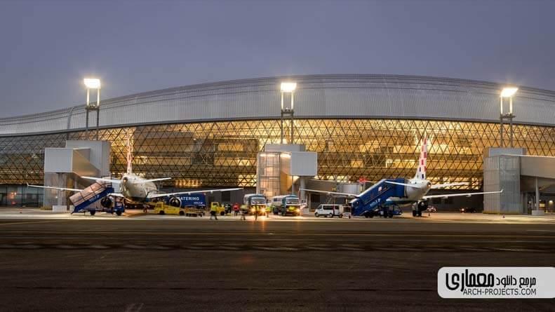 معماری فرودگاه زاگرب