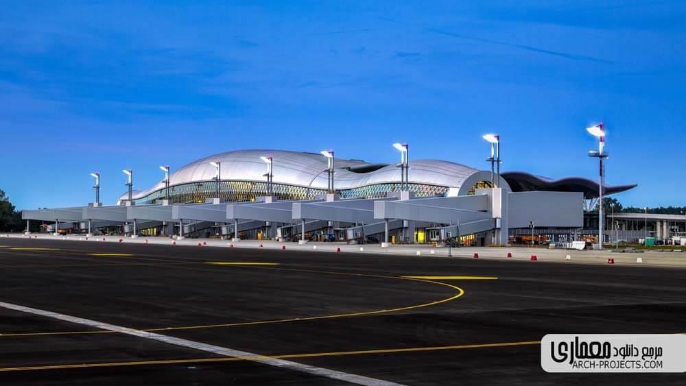 طراحی فرودگاه Zagreb
