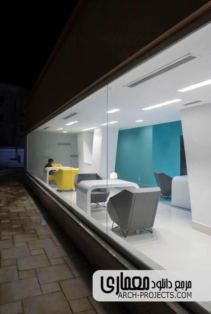 معماری داخلی بیمارستان