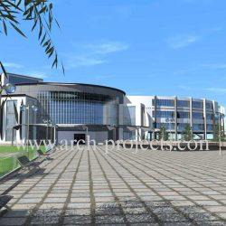 دانلود پروژه طراحی بیمارستان+تصاویر سه بعدی