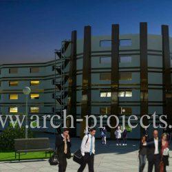 دانلود پروژه طراحی بیمارستان+سه بعدی و پوستر
