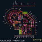 دانلود پلان معماری بیمارستان