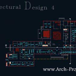 دانلود پروژه طرح 4 طراحی بیمارستان