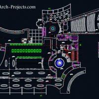 دانلود نقشه معماری موزه