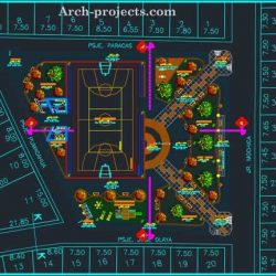 دانلود نقشه پارک