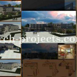 دانلود پروژه بیمارستان – پوستر و رندر ها
