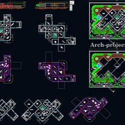 دانلود نقشه معماری فرهنگسرا