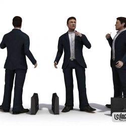 دانلود مدل سه بعدی آدم – Evermotion – 3D People