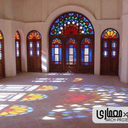 پاورپوینت معماری خانه های ایرانی