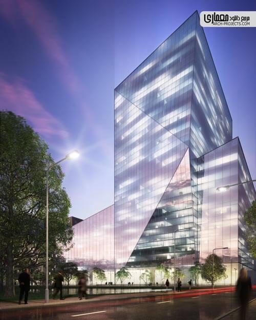 طراحی نمای ساختمان در تری دی مکس