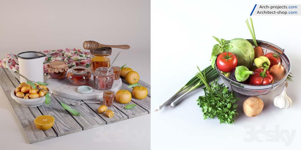 آبجکت سبزیجات