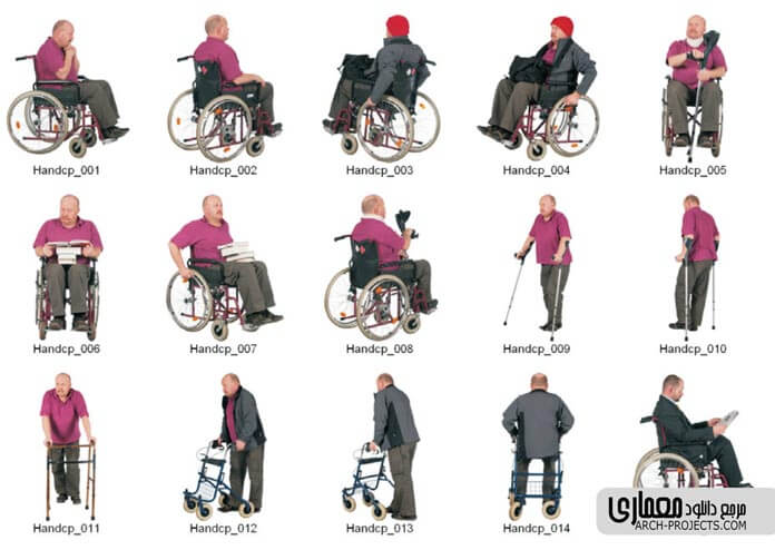 پرسوناژ معلولین