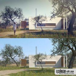 آموزش post production در معماری