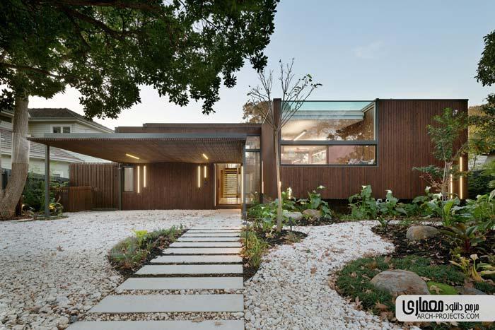 طراحی زیبای خانه مسکونی