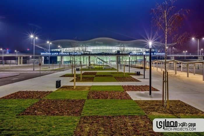 طراحی فرودگاه زاگرب