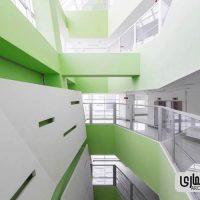 معماری بیمارسنان پارس