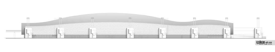 نمونه طراحی فرودگاه خارجی