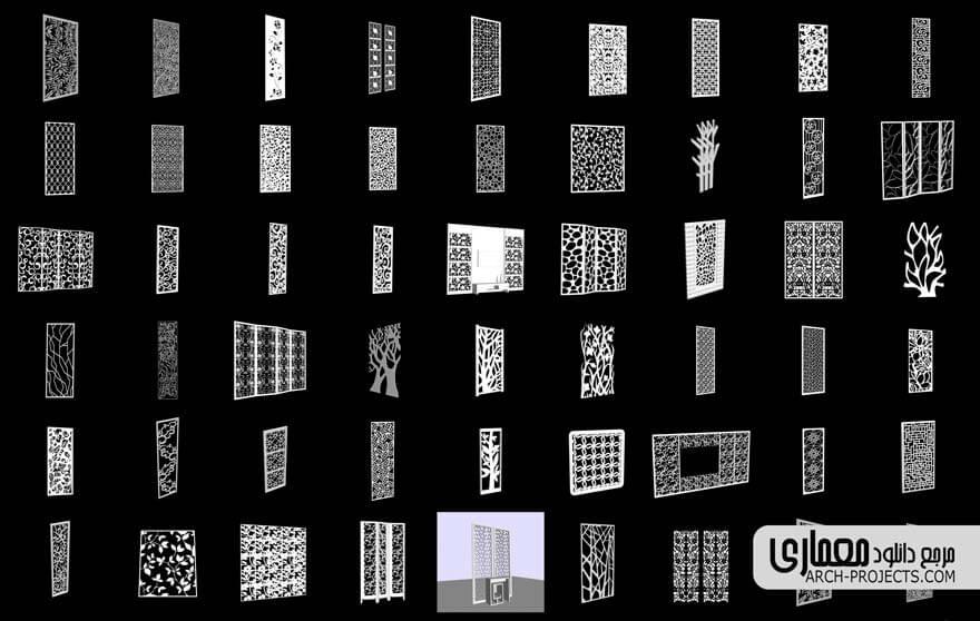 مدل سه بعدی تری دی پنل