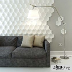 آبجکت دیوارپوش سه بعدی و تری دی پنل