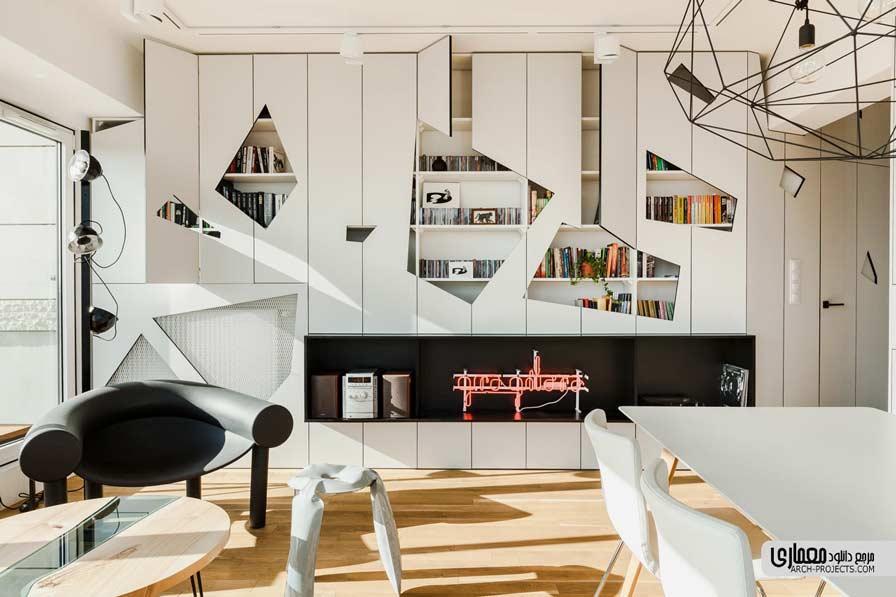 نوسازی آپارتمان پنت هاوس