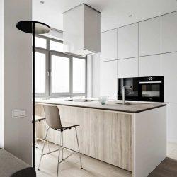 طراحی آپارتمان مینیمالیستی در آدسا