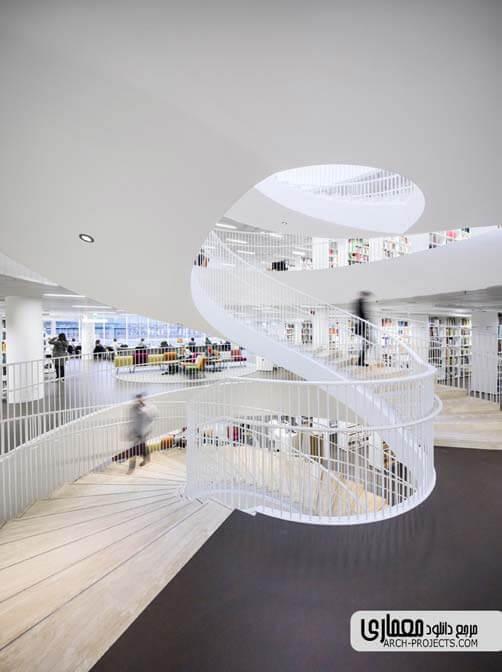 دکوراسیون داخلی کتابخانه