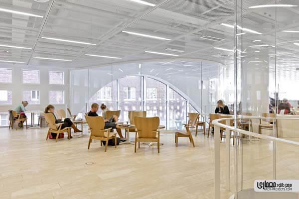 طراحی کتابخانه دانشگاه
