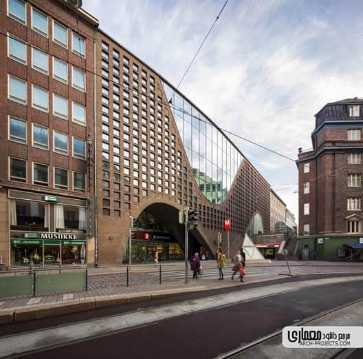طراحی کتابخانه مرکزی دانشگاه هلسینکی