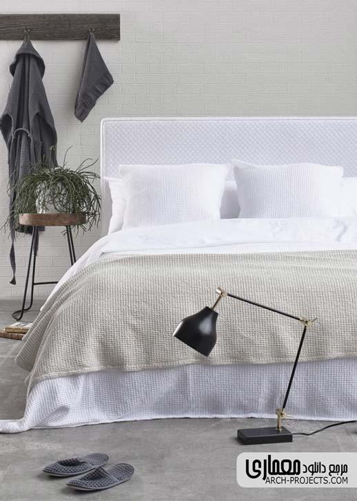 طراحی اتاق خواب تابستانی