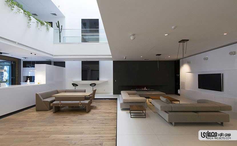 طراحی داخلی خانه شریفی ها