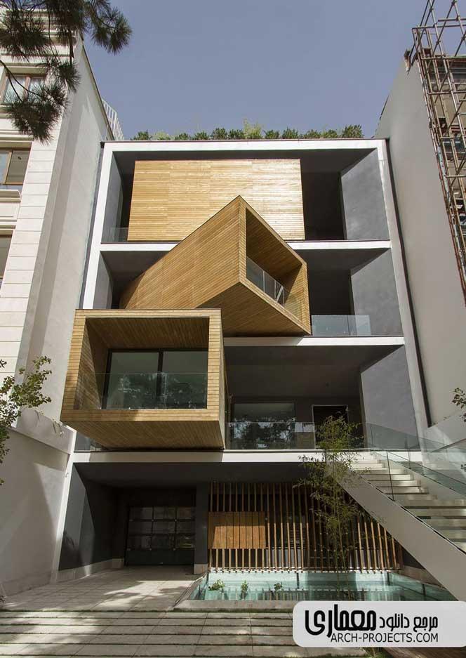 طراحی خانه شریفی ها