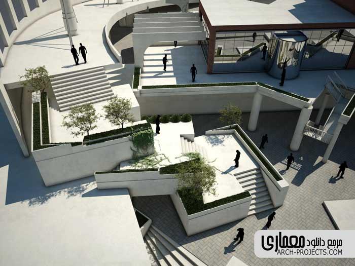 پلان باغ موزه