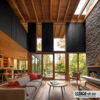 معماری داخلی ویلا