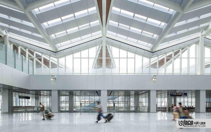 طراحی داخلی ترمینال