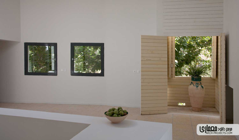 طراحی داخلی خانه سالمندان خوانسار