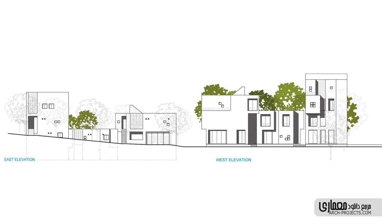 طراحی نمای خانه سالمندان خوانسار