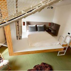 طراحی داخلی اتاقهای هتل در آمستردام