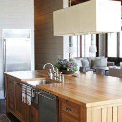 نحوهی طراحی پیشخوان آشپزخانه