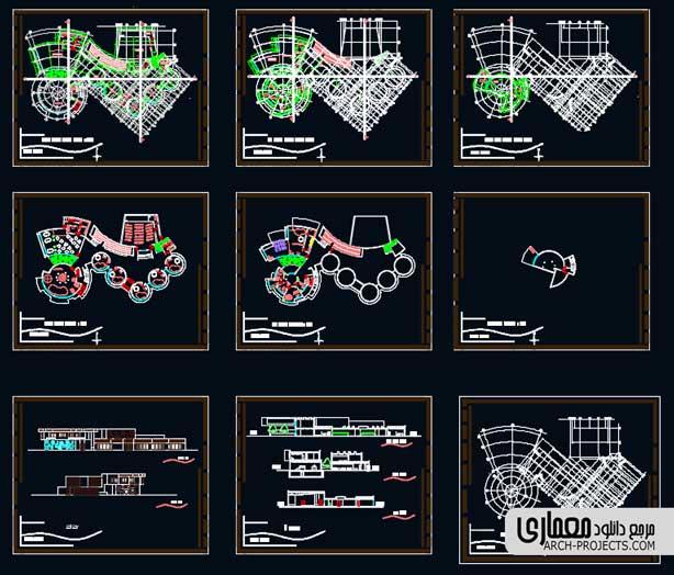دانلود نقشه مهدکودک