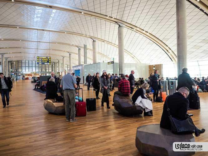 نمونه طراحی فرودگاه