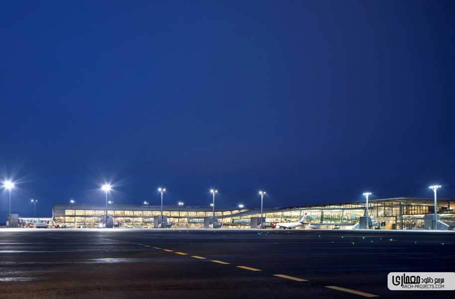 طرح توسعه فرودگاه اسلو