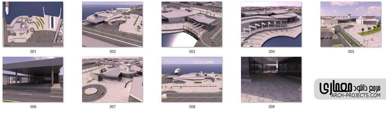 پلان پایانه دریایی