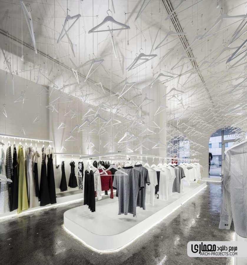 طراحی فروشگاه آقا و خانم وایت