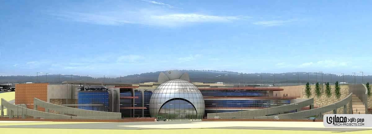 دانلود پروژه طراحی مرکز نجوم