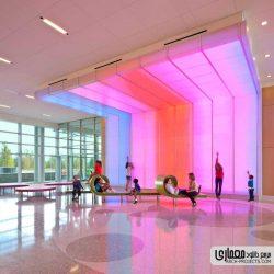 طراحی بیمارستان کودکان Nemours – آمریکا