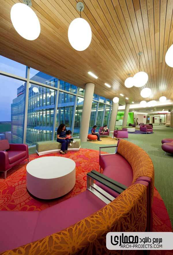 طراحی داخلی بیمارستان
