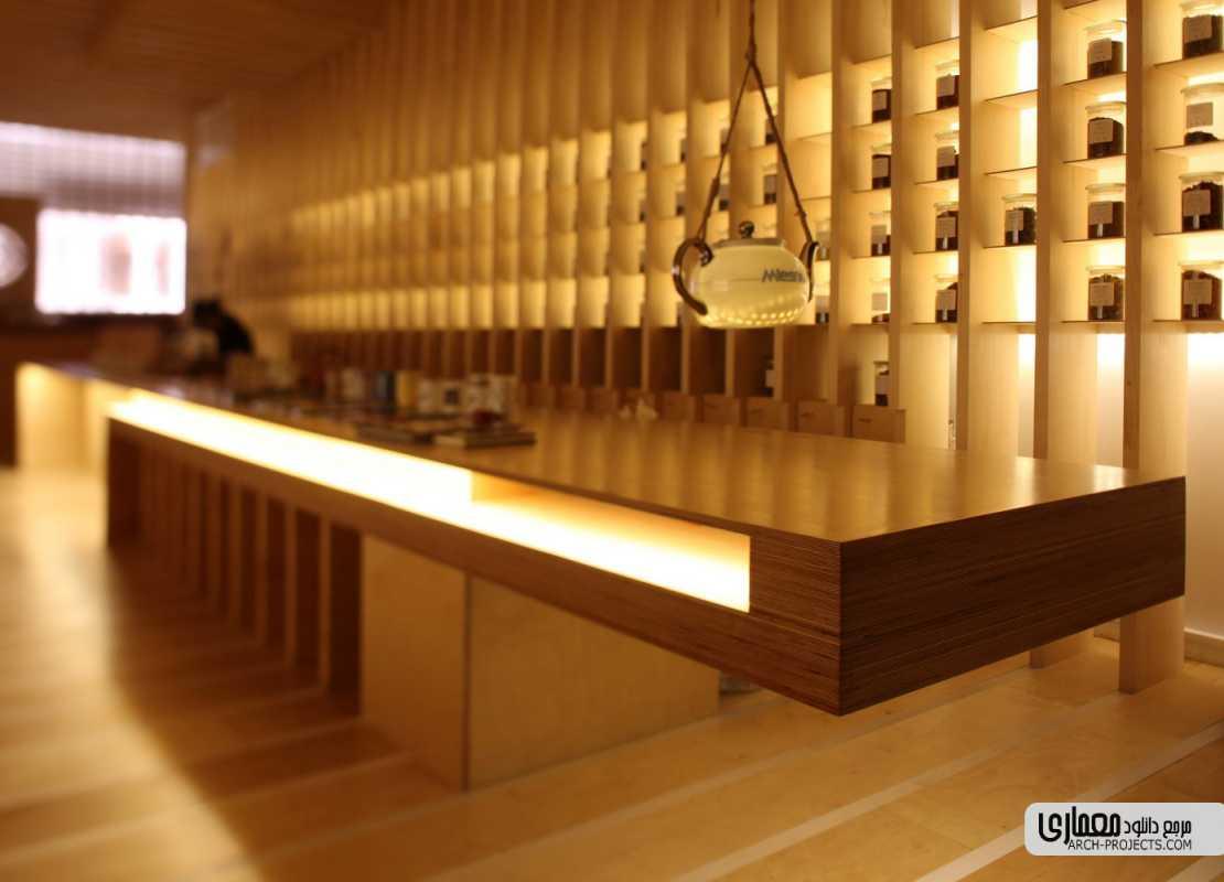 طراحی قهوه خانه